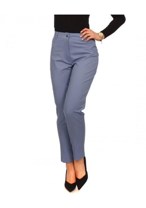 CYGARETKI DAMSKIE SPODNIE BAWEŁNA jasny jeans